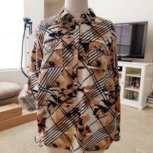 Dana Buchman Button shirt.